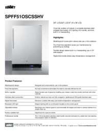 Brochure SPFF51OSCSSHV