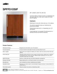 Brochure SPFF51OSIF