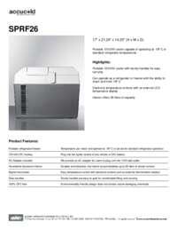 Brochure SPRF26