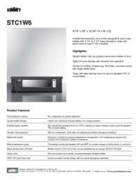 Brochure STC1W6