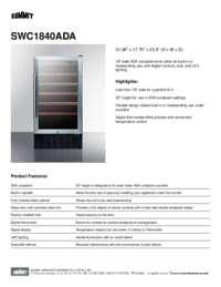 Brochure SWC1840ADA