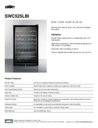 Brochure SWC525LBI