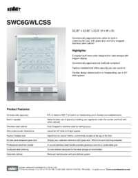 Brochure SWC6GWLCSS