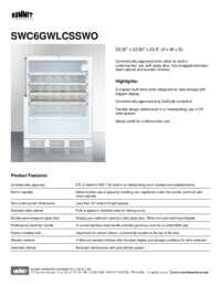 Brochure SWC6GWLCSSWO