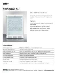 Brochure SWC6GWLSH