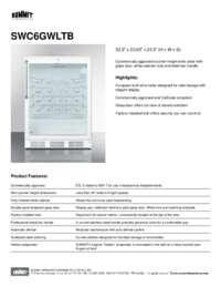 Brochure SWC6GWLTB
