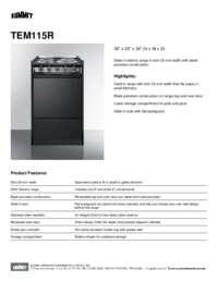 Brochure TEM115R
