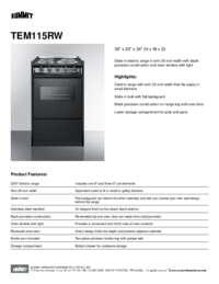 Brochure TEM115RW