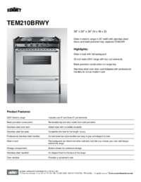 Brochure TEM210BRWY