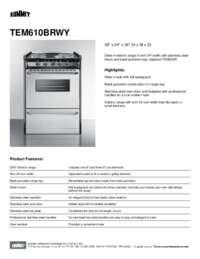 Brochure TEM610BRWY