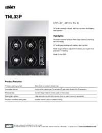 Brochure TNL03P