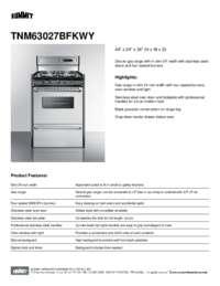 Summit Tnm63027bfkwy 24 Inch Professional Series Gas