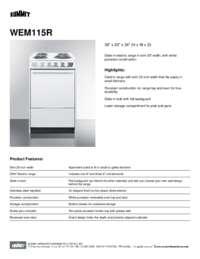 Brochure WEM115R