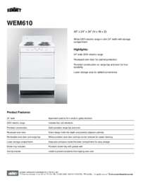 Brochure WEM610