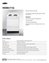 Brochure WEM6171Q