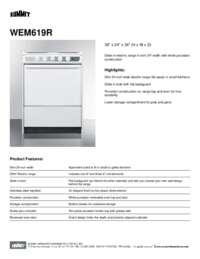 Brochure WEM619R