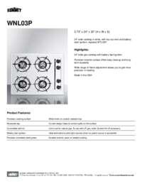 Brochure WNL03P