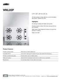 Brochure WNL05P