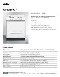 Brochure WNM2107F