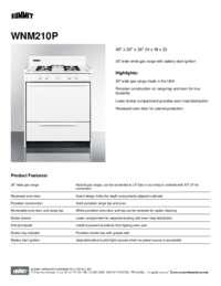 Brochure WNM210P