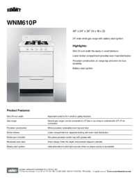 Brochure WNM610P