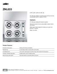 Brochure ZNL033