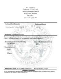 Certificate of Conformity (675 KB)