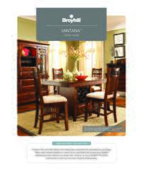 Vantana Dining Room Brochure