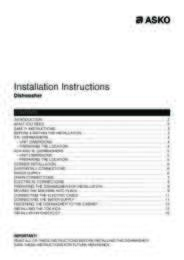 Installation Instructions TH