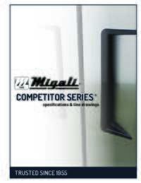 Migali Competitor Series Catalog 2015