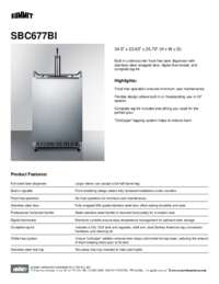 Brochure SBC677BI