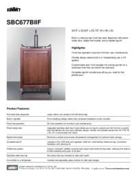 Brochure SBC677BIIF