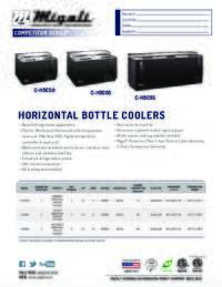 Horizontal Bottle Cooler   Competitor Series