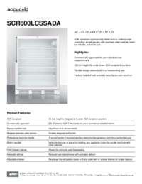 Brochure SCR600LCSSADA