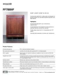 Brochure FF7BBIIF