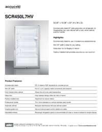 Brochure SCR450L7HV
