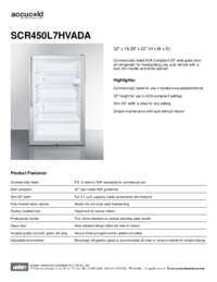 Brochure SCR450L7HVADA