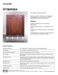 Brochure FF7BIIFADA