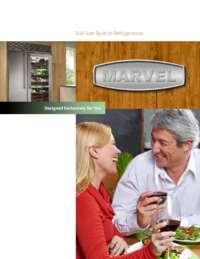 Marvel Refrigeration Brochure