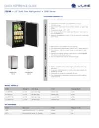 2218R spec sheet