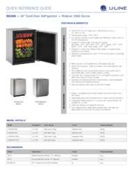 3024R spec sheet
