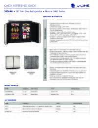 3036RR spec sheet