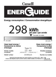 42309 02 stainless steel Ca energy guide