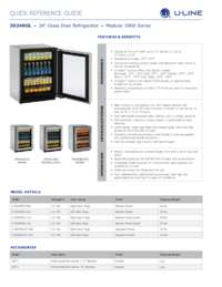 3024RGL spec sheet