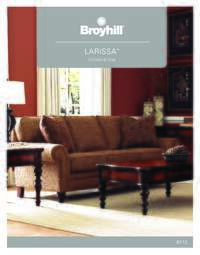 Larissa Living Room Brochure