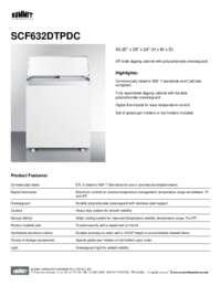 Brochure SCF632DTPDC