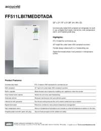 Brochure FF511LBI7MEDDTADA