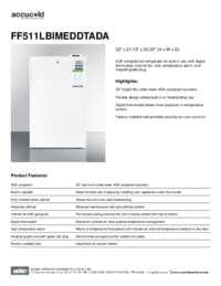 Brochure FF511LBIMEDDTADA
