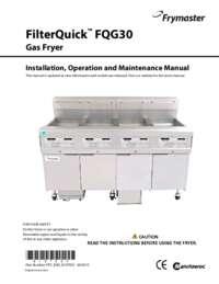 FQG30U Manual