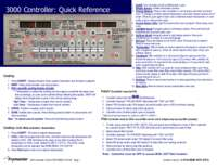 3000 Controller Guide
